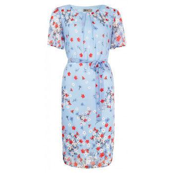 budget floral printed dress