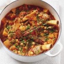 Moroccan Lamb Shanks With Sweet Potato Recipe