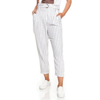 work wear stripe trouser