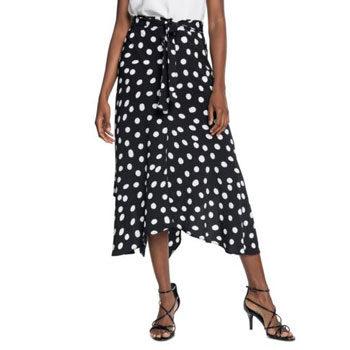 budget polka dot skirt