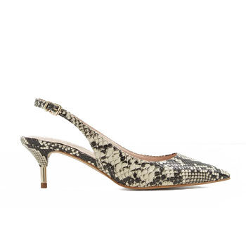 snake skin kitten heel fashion trends