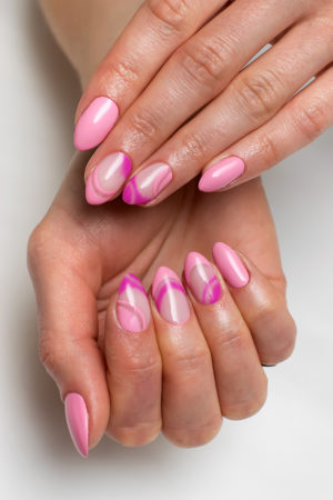 Almond shape nails 2019