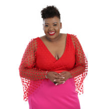 Anele Mdoda is off to the 2019 Oscars