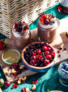 Chocolate mousse pots recipe