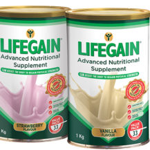 Win One Of Three Lifegain Hampers, Worth R1200 Each!
