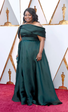 octavia at the oscars in 2018