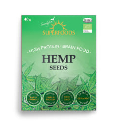 Organic Hemp Seeds Soaring Free Superfoods