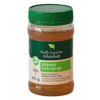 Organic rice syrup Faithful to Nature