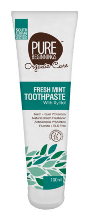 organic toothpaste for healthy teeth during menopause