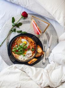 Shakshuka breakfast recipe