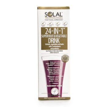 Solal 24-In-1 Superfruit Vegetable Drink