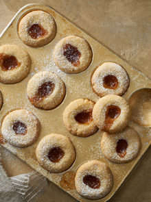 Thumbprint cookies recipe Staffords