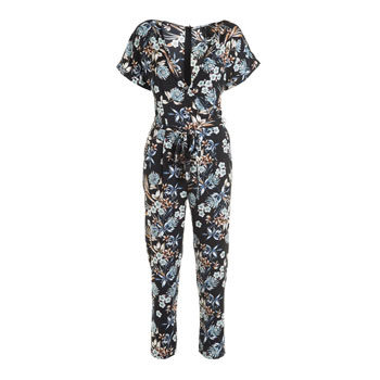 flattering patterned jumpsuit