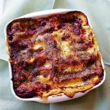 Mushroom, Pesto and Spinach Lasagne Recipe