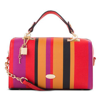 candy stripe bag inspired by new york fashion week