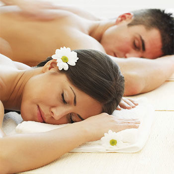 Valentine's day couples spa gift