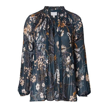 floral blouse for valentine's day