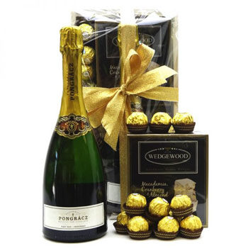 Valentine's day golden celebration gift