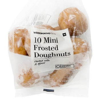 packet of mini doughuts