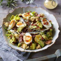 Potato and Egg Salad with Crispy Bacon Recipe