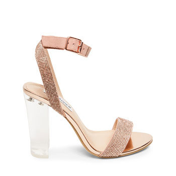 rose gold heels for valentine's day