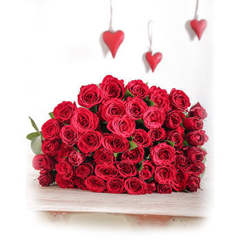 Valentine's day red roses gift