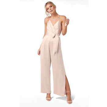 satin jumpsuit for valentine's day