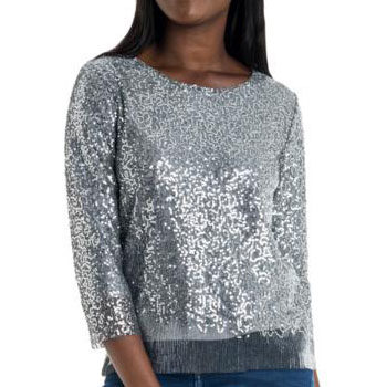 sequins blouse for valentine's day
