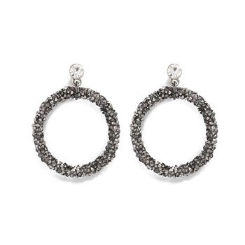 hoop earrings for Valentine's day