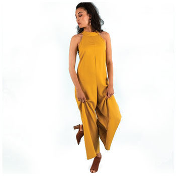 flattering bright jumpsuit