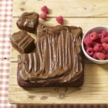 Chocolate Brownie Tray Bake With Avocado Frosting Recipe