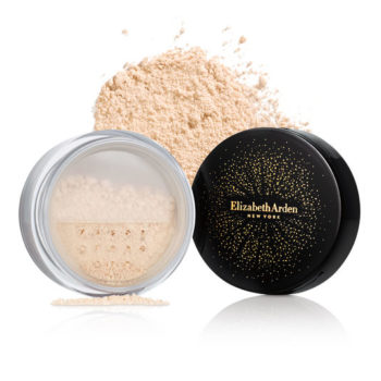 blurring loose powder
