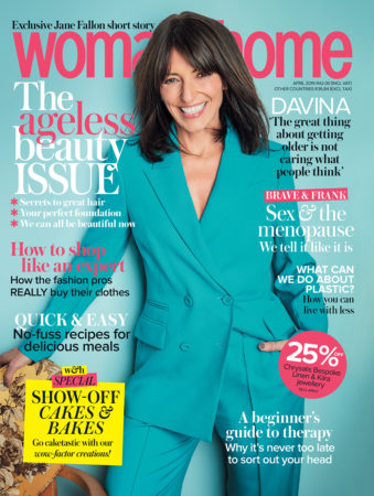 woman&home April 2019 issue