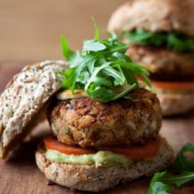 Spicy Mexican Bean Burgers Recipe