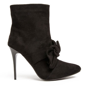 bow detail ankle boot