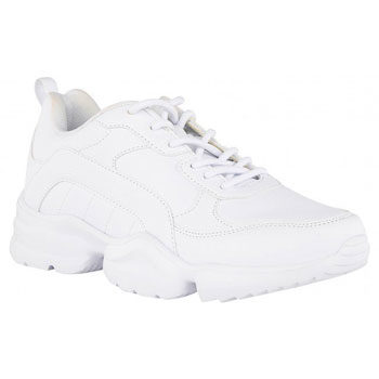 white dad sneaker trend