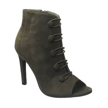 peep toe stiletto ankle boot