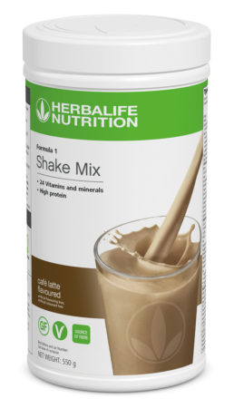Herbalife F1 Cafe Latte Flavoured Shake Mix