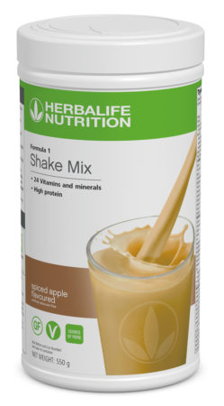 Herbalife F1 Spiced Apple Flavoured Shake Mix