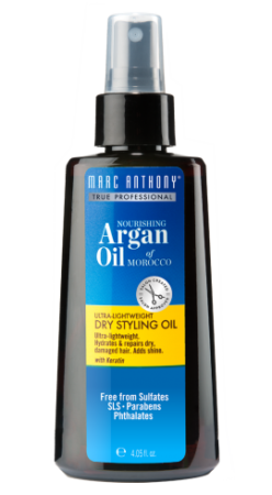 dry styling oil