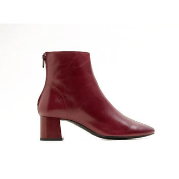Block-heel ankle boot