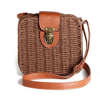 street style micro basket bag