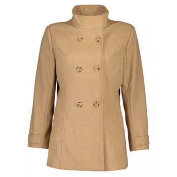 Melton short coat