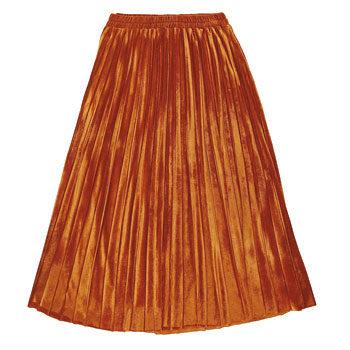 street style pleated skirt