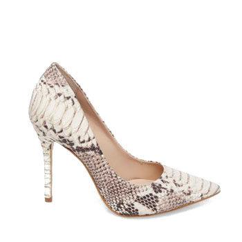 street style animal print heels