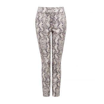 animal printed pants