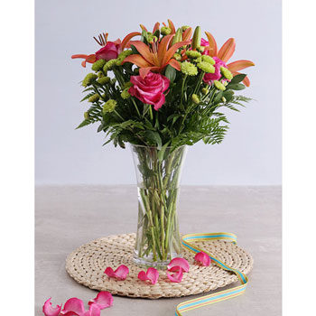 roses and lilies for mother's day