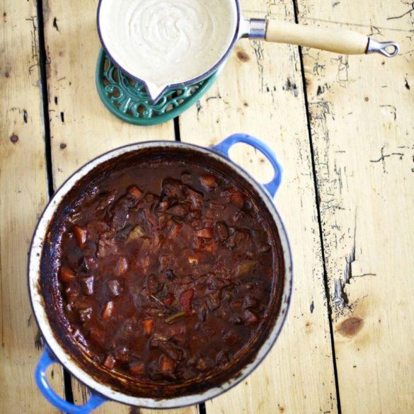 Beef Bourguignon With Potato And Parsnip Mash Recipe