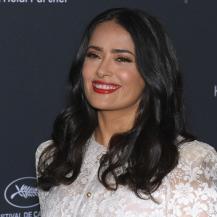 What Salma Hayek Uses To Keep Her Hair Looking Luscious