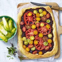 Tomato Tart With Caramelised Red Onion Recipe